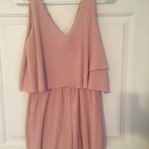 Beautiful soft blush dress. Perfect condition